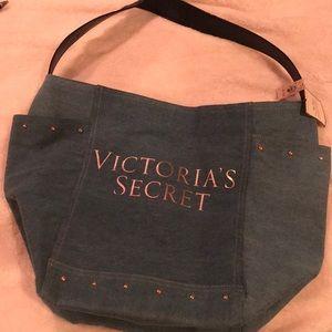 🔹 Victoria Secret Jean Tote 🔹